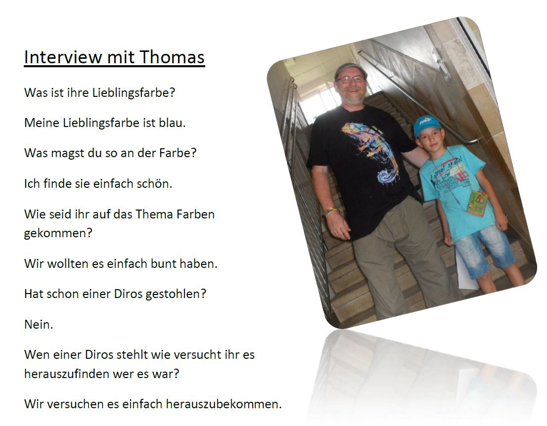 Interview mit Thomas